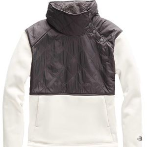 THE NORTH FACE- Rosie Sherpa. Gray & White. XL